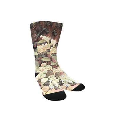 Green Mist Yuma Custom Socks for Women