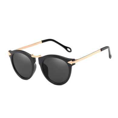 Cat Eye Women Arrow Vintage Shades Flowers Sunglasses