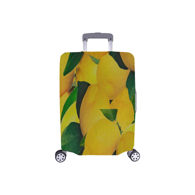 Old Gold Lemons Luggage Cover/Small 24'' x 20''