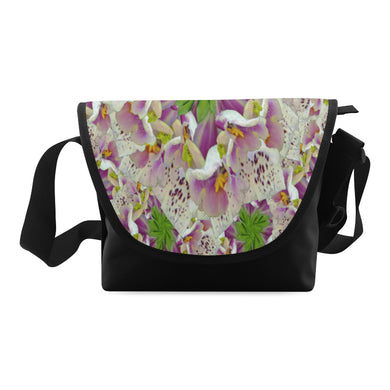 Digitalis Purpurea Flora Crossbody Bag (Model 1631)