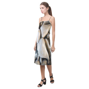 Vignette Sea Shells Alcestis Slip Dress (Model D05)