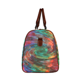 Ray of Twirls Waterproof Travel Bag/Small (Model 1639)