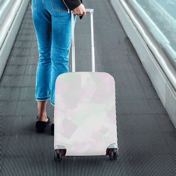 Clear Amour Snuff Mint Luggage Cover/Small 24'' x 20''