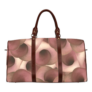Apple Blossom Petals Waterproof Travel Bag/Small (Model 1639)