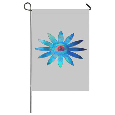 Bluish Eye Flower Garden Flag 28''x40'' (Without Flagpole)