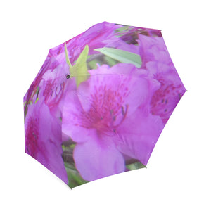Azalea Flowers Foldable Umbrella