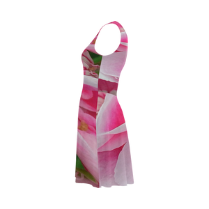 Pretty Pink Flora Atalanta Sundress (Model D04)