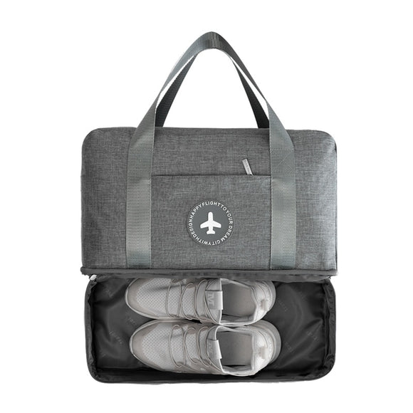 July's Song Waterproof Multifunctional Dry Wet Separation Soft Travel Duffle Bag