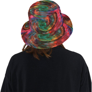 Ray of Twirls All Over Print Bucket Hat