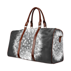 Dandelion Fuzz Waterproof Travel Bag/Small (Model 1639)