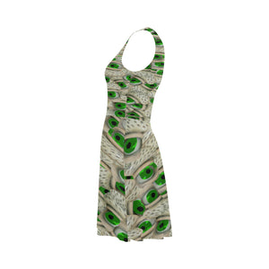 Bushy Green Eyebrows Atalanta Sundress (Model D04)