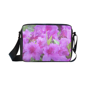 Azalea Flowers Classic Cross-body Nylon Bags (Model 1632)