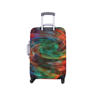 Ray of Twirls Luggage Cover/Small 24'' x 20''