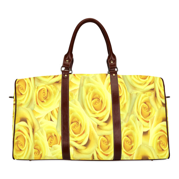 Candlelight Roses Waterproof Travel Bag/Small (Model 1639)