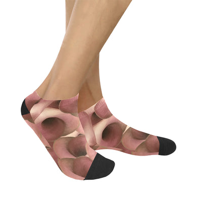 Apple Blossom Petals Women's Ankle Socks