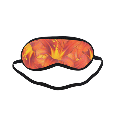 Orange Daylilies Sleeping Mask