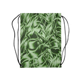 "Palm Leaf Dell Medium Drawstring Bag Model 1604 (Twin Sides) 13.8""(W) * 18.1""(H)"