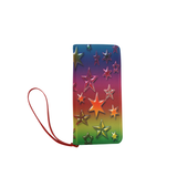 Rainbows Stars Women's Clutch Wallet (Model 1637)