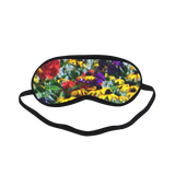 Picturesque Flowers Sleeping Mask