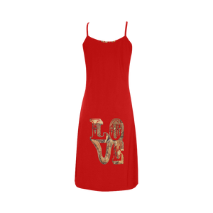 Snake Skin Love Alcestis Slip Dress (Model D05)
