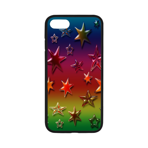"Rainbow Stars iPhone 7 4.7"" Case"