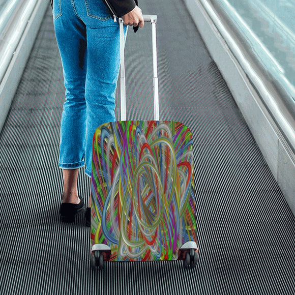 Astray Colors Luggage Cover/Small 24'' x 20''