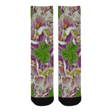 Digitalis Purpurea Flora Trouser Socks