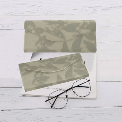 Eagle Taupe Gray Custom Foldable Glasses Case