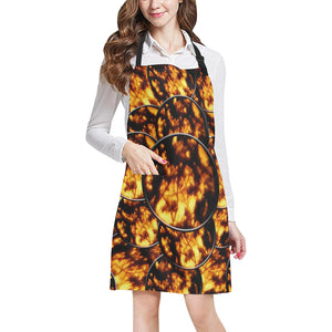 Harvest Moon Coins All Over Print Apron