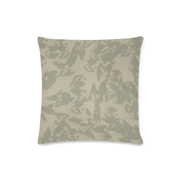 Eagle Taupe Gray Custom Zippered Pillow Case 16