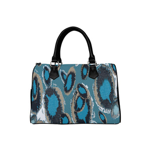 Bluish Smudge Spots Boston Handbag (Model 1621)