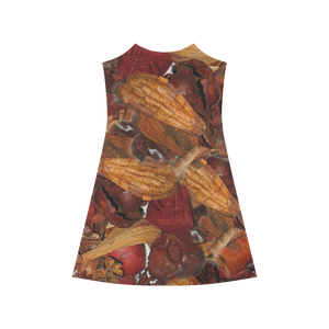 Cinnamon Potpourri Alcestis Slip Dress (Model D05)