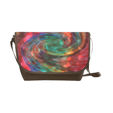 Ray of Twirls New Messenger Bag (Model 1667)
