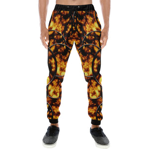 Harvest Moon Coins Men's All Over Print Sweatpants (Model L11)