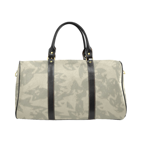 Eagle Taupe Gray New Waterproof Travel Bag/Large (Model 1639)