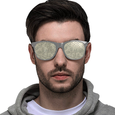 Eagle Taupe Gray Custom Goggles (Perforated Lenses)