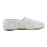 Clear Amour Snuff Mint Women's Casual Shoes (Model 004)