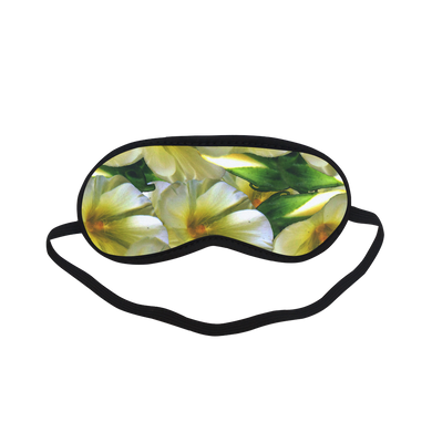 Elegant in Cream Flowers Sleeping Mask