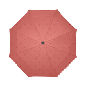 Sunset Dots Auto-Foldable Umbrella