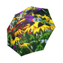 Load image into Gallery viewer, Picturesque Flowers Foldable Umbrella