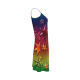 Rainbow Stars Alcestis Slip Dress (Model D05)