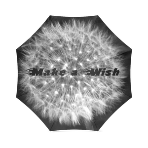 Dandelion Fuzz Make A Wish Foldable Umbrella