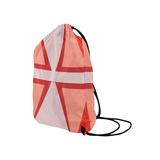 "Shades of Red Patchwork Medium Drawstring Bag Model 1604 (Twin Sides) 13.8""(W) * 18.1""(H)"