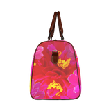 Sweet Vigorosa Flowers Waterproof Travel Bag/Small (Model 1639)