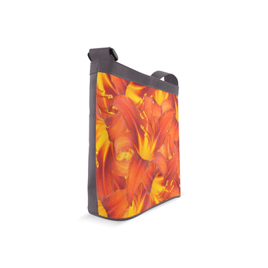 Orange Daylilies Crossbody Bags (Model 1613)