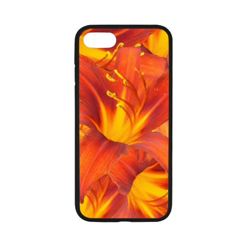 "Orange Daylilies iPhone 7 4.7"" Case"