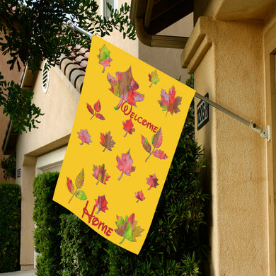 Autumn Fallen Leaves Garden Flag 28''x40'' (Without Flagpole)