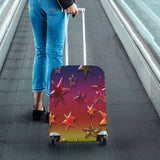 Rainbow Stars Luggage Cover/Small 24'' x 20''
