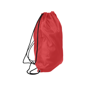 "Alizarin Dissolve Medium Drawstring Bag Model 1604 (Twin Sides) 13.8""(W) * 18.1""(H)"