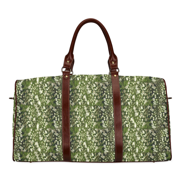 Baby's Breath Waterproof Travel Bag/Small (Model 1639)